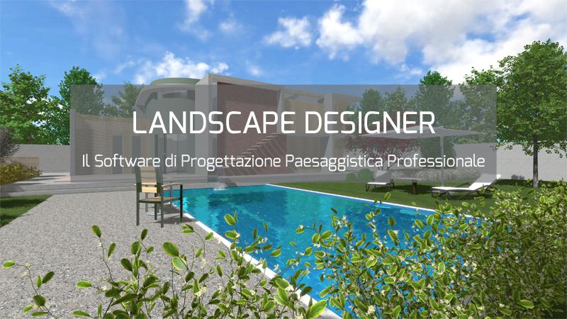 landscape designer software per la progettazione del